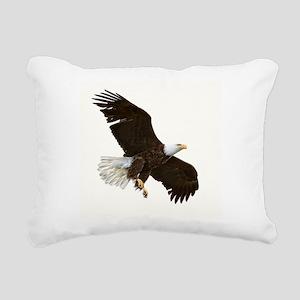 Amazing Bald Eagle Rectangular Canvas Pillow