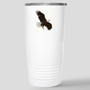 Amazing Bald Eagle Stainless Steel Travel Mug