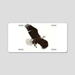 Amazing Bald Eagle Aluminum License Plate