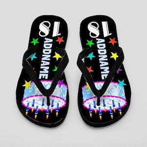 Gorgeous 18th Flip Flops