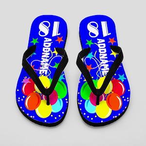 Wonderful 18th Flip Flops