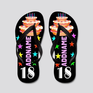 Awesome 18th Flip Flops