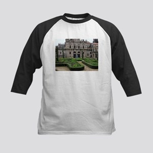 Gardens and cathedral, Santiago,Sp Baseball Jersey