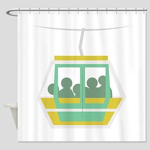 Chair Lift Shower Curtain
