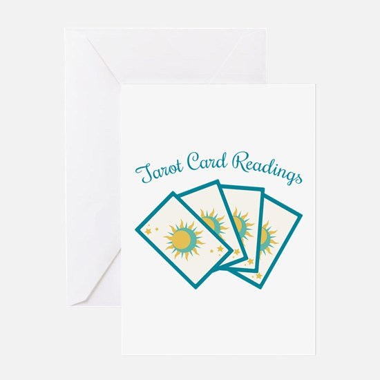 Tarot Card Reading Greeting Cards