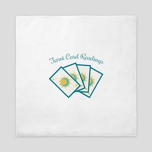 Tarot Card Reading Queen Duvet