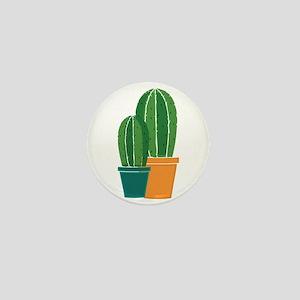 Potted Cactus Mini Button