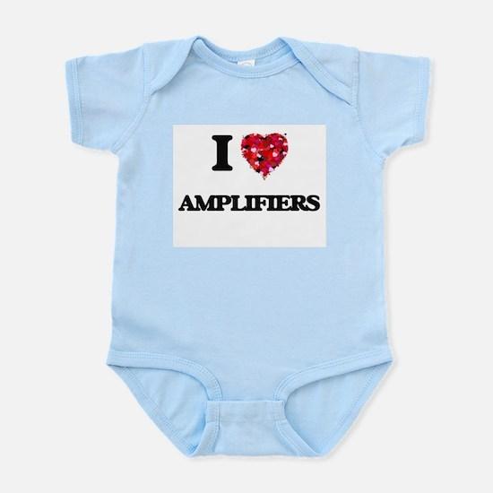 I Love Amplifiers Body Suit