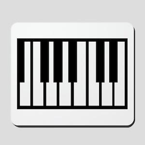 Midi Keyboard Musical Instrument Mousepad