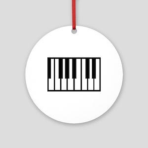 Midi Keyboard Musical Instrument Ornament (Round)