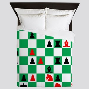 Alexander Petrov Russian Great Chess M Queen Duvet