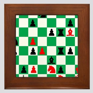Alexander Petrov Russian Great Chess M Framed Tile