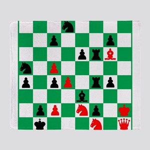 Alexander Petrov Russian Great Chess Throw Blanket