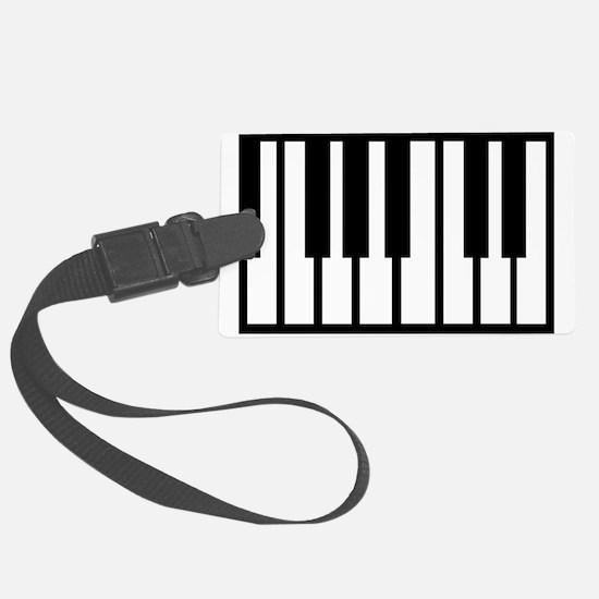 Midi Keyboard Musical Instrument Luggage Tag