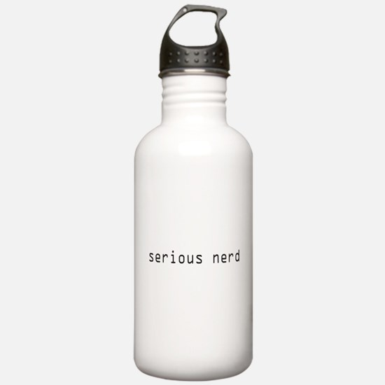 Serious Nerd Water Bottle