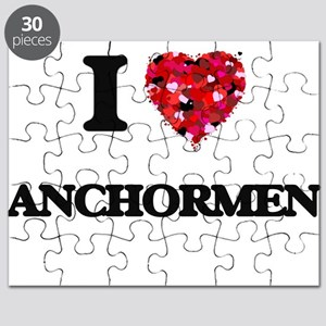 I Love Anchormen Puzzle