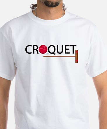 Croquet White T-Shirt