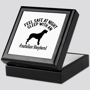 Sleep With Anatolian Shepherd Dog Des Keepsake Box