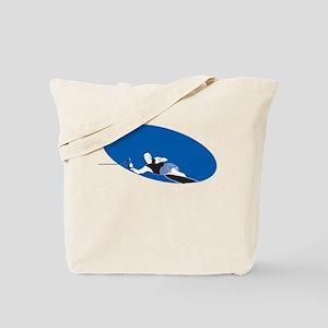 Slalom Waterskier Tote Bag