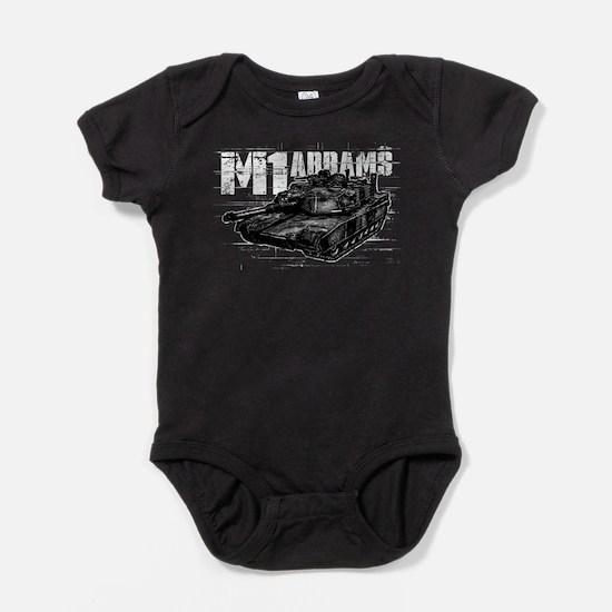 M1 Abrams Baby Bodysuit