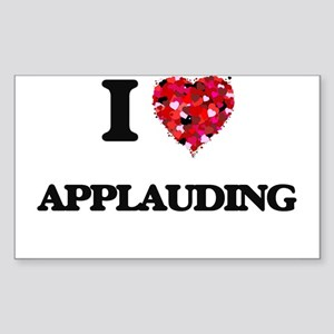 I Love Applauding Sticker
