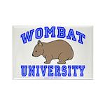 Wombat University II Rectangle Magnet (10 pack)