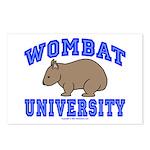 Wombat University II Postcards (Package of 8)