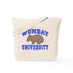 Wombat University II Tote Bag