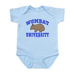 Wombat University II Infant Bodysuit