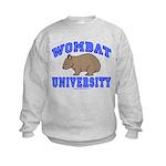 Wombat University II Kids Sweatshirt