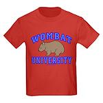 Wombat University II Kids Dark Colored T-Shirt