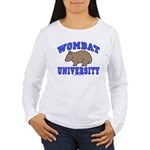 Wombat University II Women's Long Sleeve T-Shirt