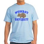 Wombat University II Light Colored T-Shirt