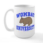 Wombat University II Coffee Mug Large