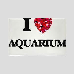 I Love Aquarium Magnets