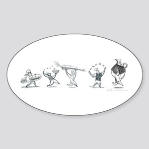Chefs Sticker (Oval)