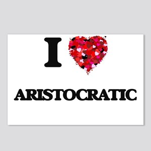 I Love Aristocratic Postcards (Package of 8)