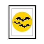 Bats Framed Panel Print