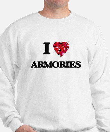 I Love Armories Sweatshirt