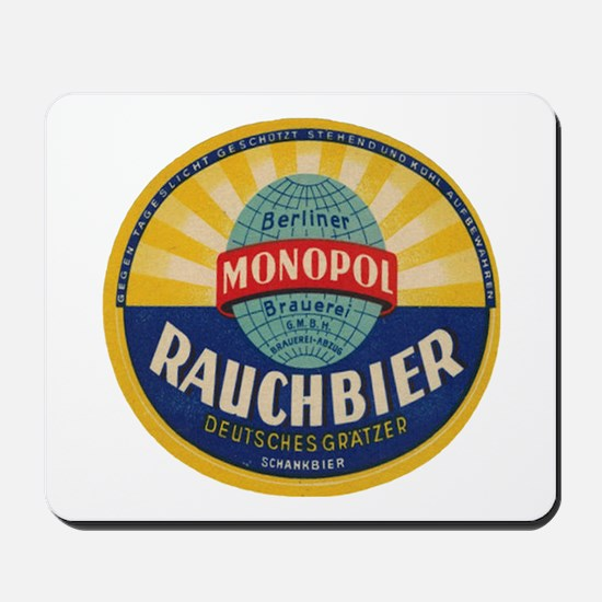 German Rauchbier Mousepad