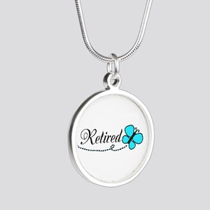 Retired Teal Black Butterfly Necklaces