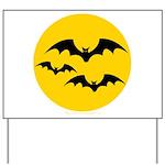 Bats Yard Sign