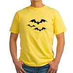 Bats Yellow T-Shirt