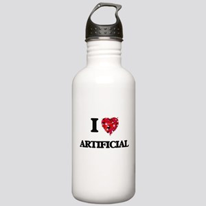 I Love Artificial Stainless Water Bottle 1.0L