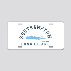 Southampton - Long Island. Aluminum License Plate