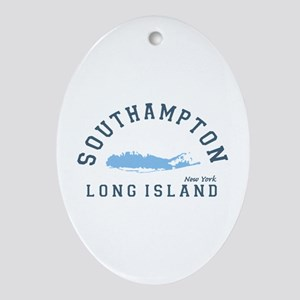 Southampton - Long Island. Ornament (oval)