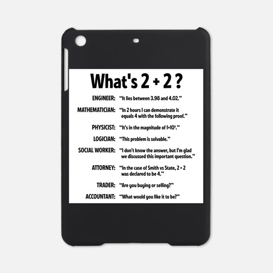 2 plus 2 iPad Mini Case