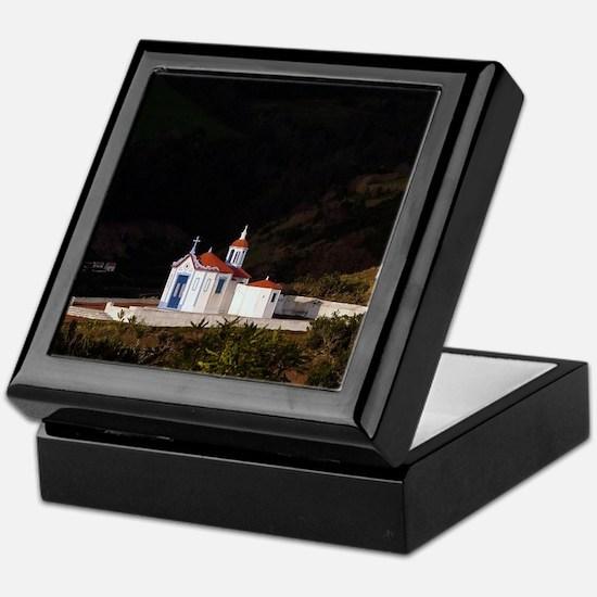 Portuguese chapel Keepsake Box