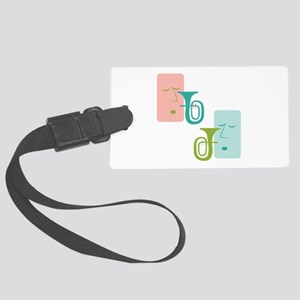 Horn Music Luggage Tag