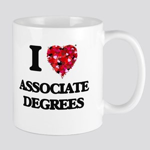 I Love Associate Degrees Mugs